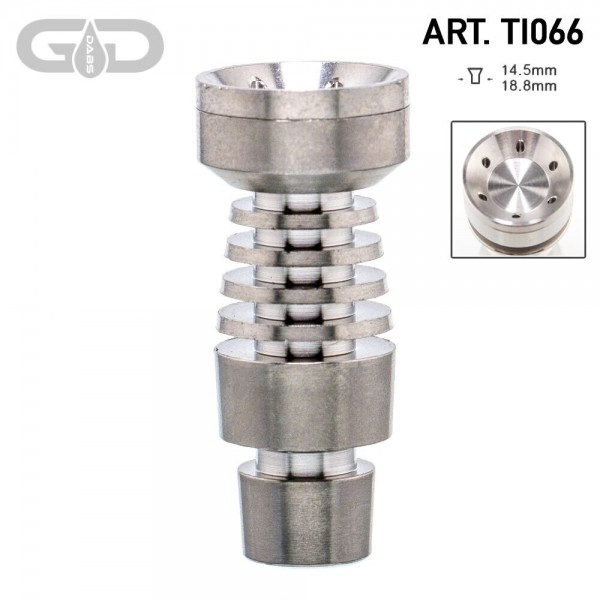 Grace Glass | Titanium domeless nail - SG:14.5mm/18.8mm (male)