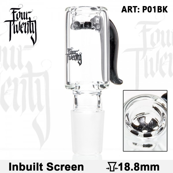 420 Series | Bowl - Black - SG:18.8mm - Inside Screen