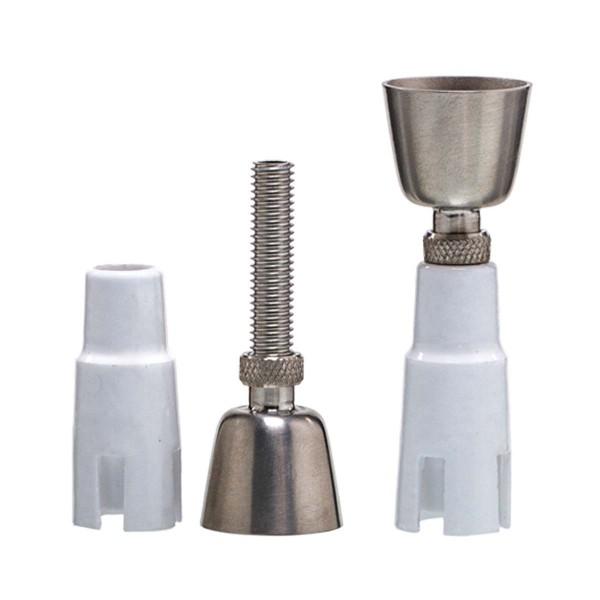 Grace Glass | Titanium Ceramic small domeless nail- SG:14.5mm (male/female)