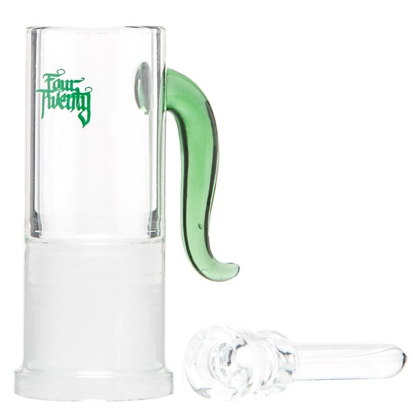 420 Series | Oil Dome and Nail - Green - SG:18.8mm