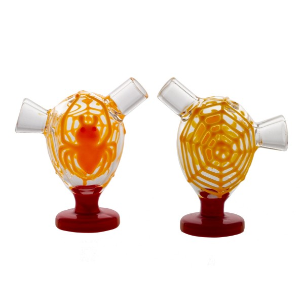 Grace Glass | Little Storm Orange | 6 pcs in display Glow in the Dark