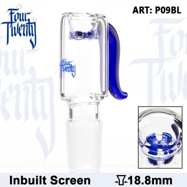 420 Series | Bowl - Blue - SG:18.8mm - Inside Screen