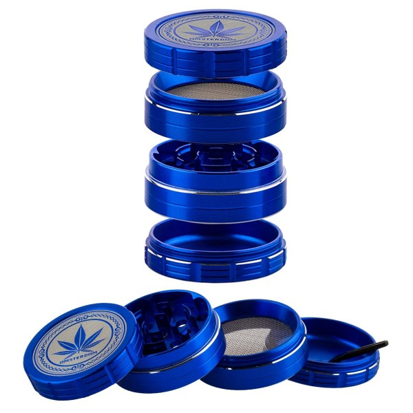 Grace Glass Amsterdam | Grinder- 4part- Ø:50mm- 12pcs/box
