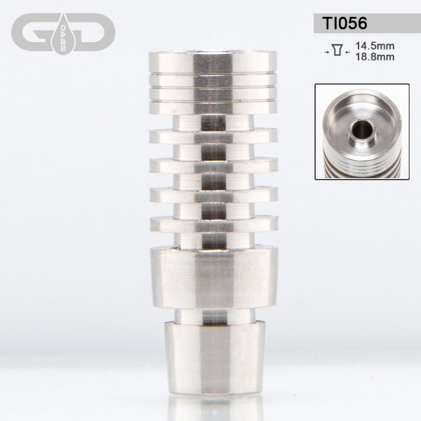 Grace Glass | Titanium domeless nail- SG:14.5mm/18.8mm (male)